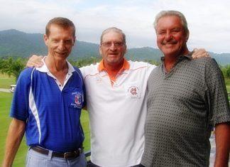 Tom Cotton, Peter Blackburn & Ken Bernek.