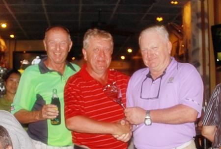 Colin, Nick Handscombe & Steve.