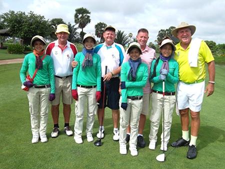 From left: Steve Mann, Rod Crosswell, Martin Kingswood & Rosco.
