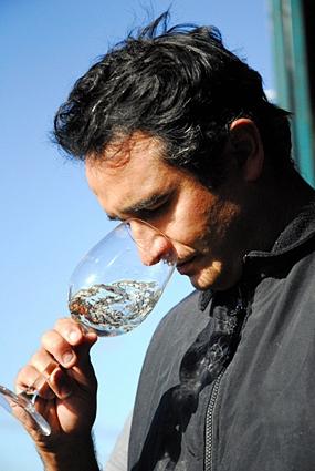 Claudio Gonçalves, Winemaker at Bodegas y Viñedos De Aguirre