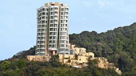 Architect Frank Gehry inspired the unique design of Opus Hong Kong.