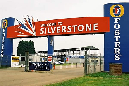 Silverstone for the British GP.