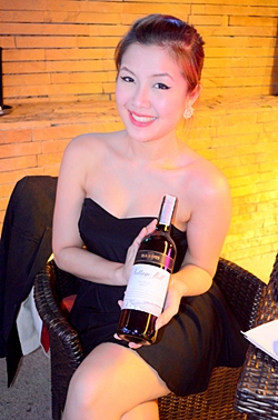 Waraporn from Ambrose is a stunning young woman who can speak about her wines with authority and without referring to notes at all.