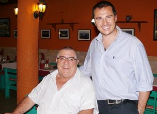 Joe Parlati and Massimo Marai.
