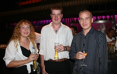 (L to R) Gemma Purnell (creative manager), Ben Reeves (copywriter & photographer), and Mark Walker, all from PPC and SEO Co., Ltd.