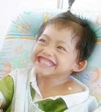 Fah Sai, 4 years old.
