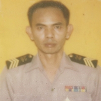 Chief Petty Officer 1st Class Thumnoon Tamnaeng's official navy ID photo.