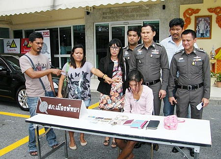 Victims point to Orawan Kaewdaeng, an alleged grifter who pilfered money and valuable items from them.