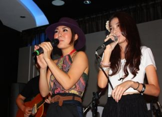 The two women not only sing well together, but look beautiful whilst doing it.