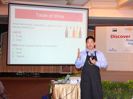 Wine connoisseur Lim Hwee Peng speaks about California wines and their use in hotels and restaurants.