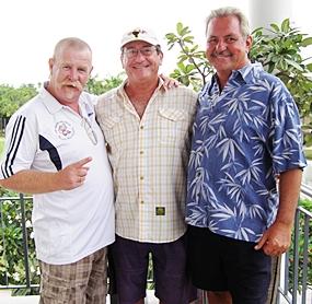 Peter Grey, Stu Rifkin & Ken Bernek.