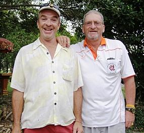 Jerry Dobbs & Peter Blackburn.