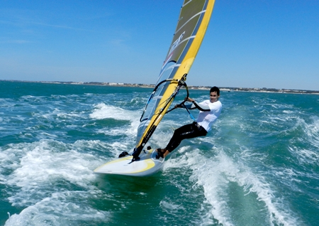 Local windsurfing star Aek Bunsawat will be representing Thailand at the 2012 Summer Olympics in England.
