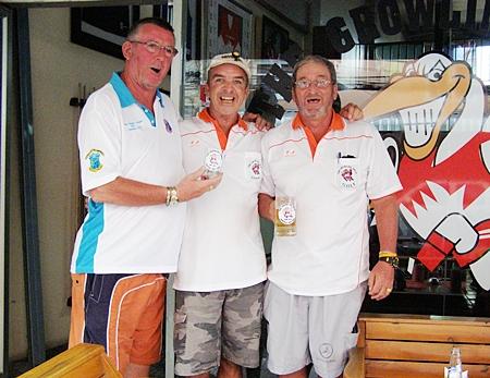 Ken Cornwall, Jerry Dobbs & Peter Blackburn.