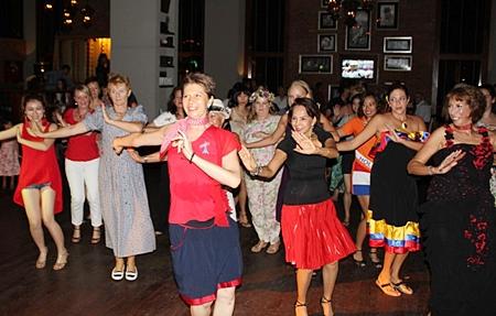 International Latino Groove night at Havana Bar.