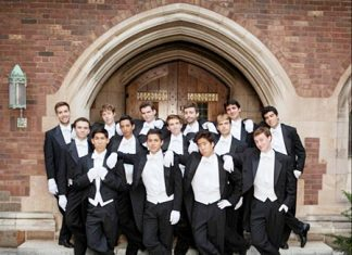 The Whiffenpoofs will be appearing in Bangkok from August 7-9.
