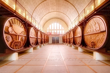 KWV's famous Cathedral Cellar at Paarl.