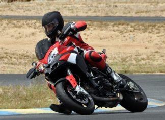 High flying Ducati.