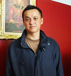 Lt. Col. Kiattisak Srathongoil, Deputy Superintendent (Suppression) Pattaya City Police Station.