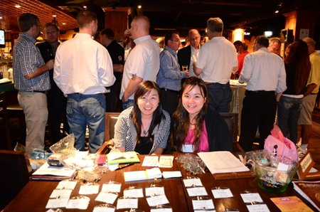 Chanakarn Lim (office manager) and Nisarrat Chuchertky (membership and events support officer) for AustCham.