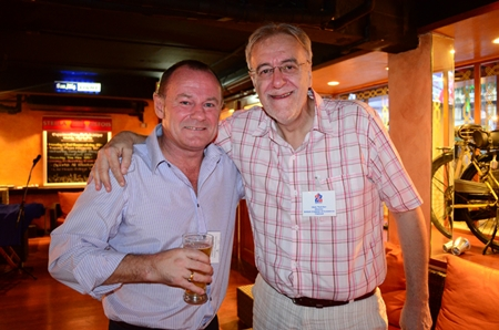 (L to R) David Lawrence (Urban Real Estate), and Chris Thatcher (group chairman Anglo-Thai Legal Co., Ltd.).