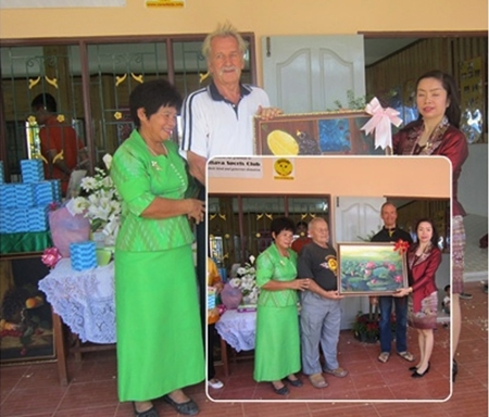 The paintings are Khao Bi Sri originals.