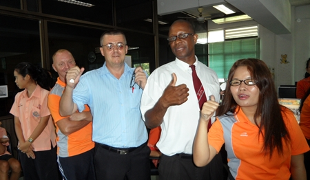 The teachers are happy, too, to get new glasses.