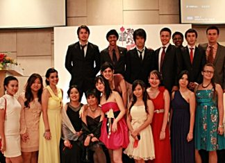 IB students held their Graduation Evening at the Hilton Pattaya earlier this year.