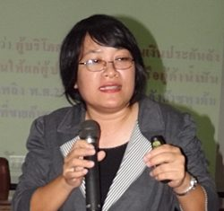 Throngsiri Jumpol, an investigator with the National Consumer Protection Board, talks about consumer rights.