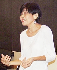 Former flight attendant Aapornne Supommanee teaches English at Pattaya City Hall.