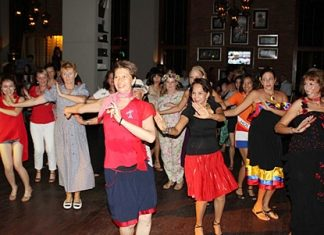 "Havana Bar & Terrazzo's 9th Latino Groove featured the theme ""International Day""."