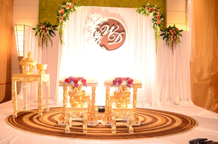 A magnificent setup for that special day.