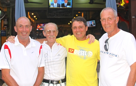 Phil Smedley, Brian Prudden, Mark Wood and Terry Wagner.