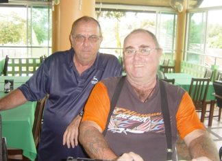 Phil Waite and Owen Walkley.