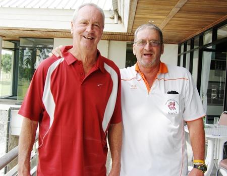 Martin Todd, left, & Peter Blackburn.