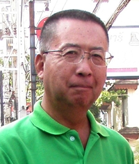 Monthly mug winner Takeshi Hakozaki.
