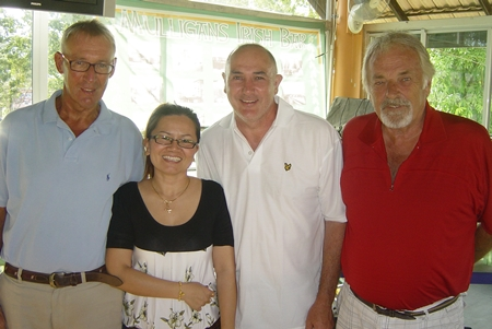 Willem, Mam, Dave & Clive.