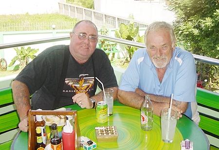 Owen Walkley & Clive Hoseason.