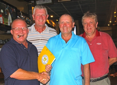 John Emmerson thanks Grant Cadell, Bob Watson & Nick Handscombe.