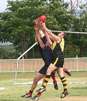 Aussie Rules Football at Thai Polo Club on Saturday, August 11.