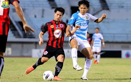 Pattaya United fought to a goalless draw against Wuachon United in Songkhla, southern Thailand last Sunday, August 26. (Photo/Pattaya United FC)