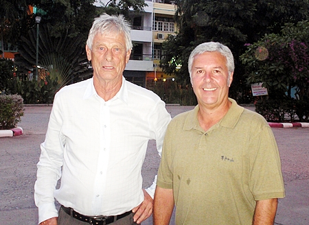 Roar Berger and Mike Chatt.