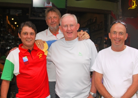 Mark Wood, Peter LeNoury, Max Scott and Phil Smedley.
