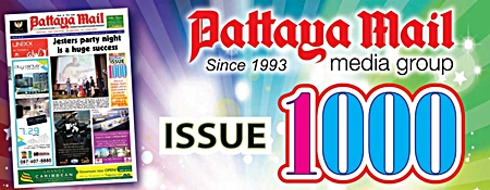 This is it! Pattaya Mail's  1000th edition.  Look inside to see how far we've come since our 100th edition way back in 1995.