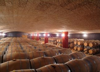 Cellar at The Campagnola winery