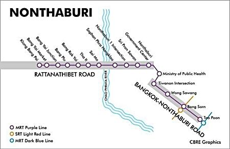 MRT Purple Line Map.