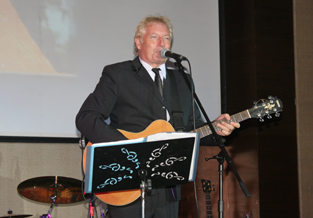 Barry Upton to sets the tone for the night's entertainment.