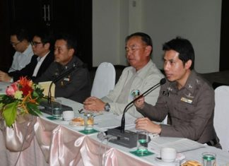Area law-enforcement agencies address the Pattaya Business & Tourism Association about the coming ASEAN Economic Community.