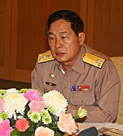 Vice Adm. Chumpol Wongwekhin, director of Thai-MECC Zone 1.