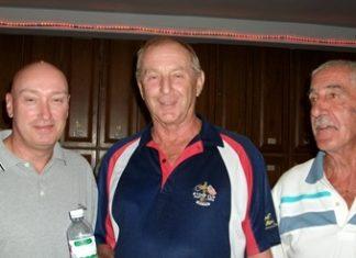 (L-R) Jan Eriksen, Colin Davis and Jimmy the Captain.